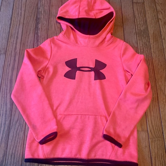 Girls Under Armour Hoodie size M